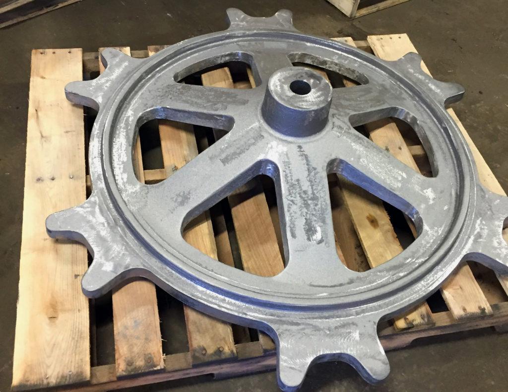 Industriel roue dentée