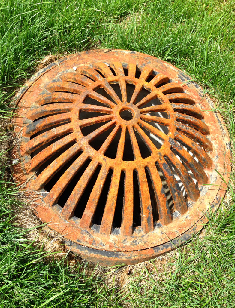 Sewer, waterworks & drainage grate