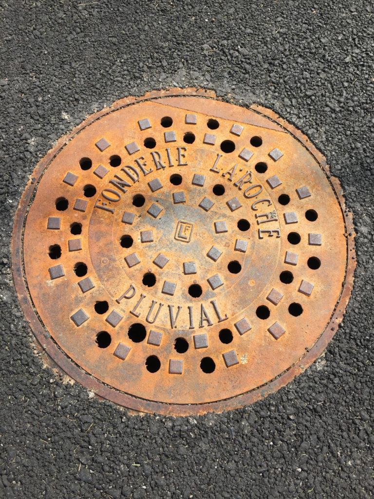 Sewer, waterworks & drainage manhole