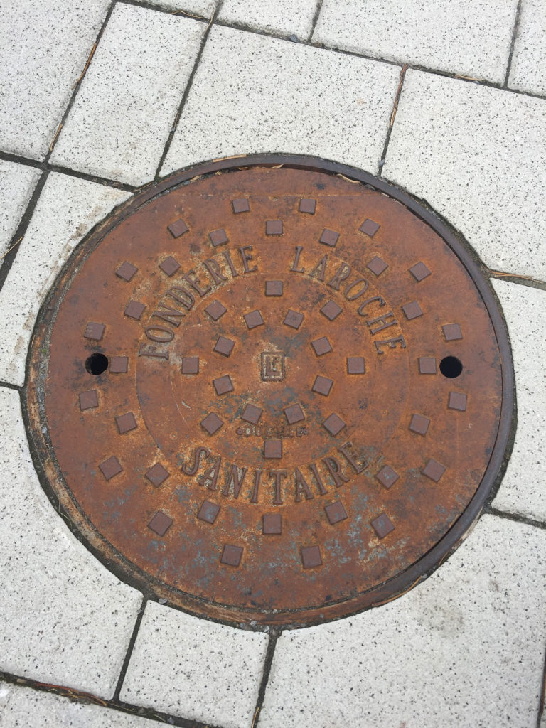 Sewer, waterworks & drainage cover