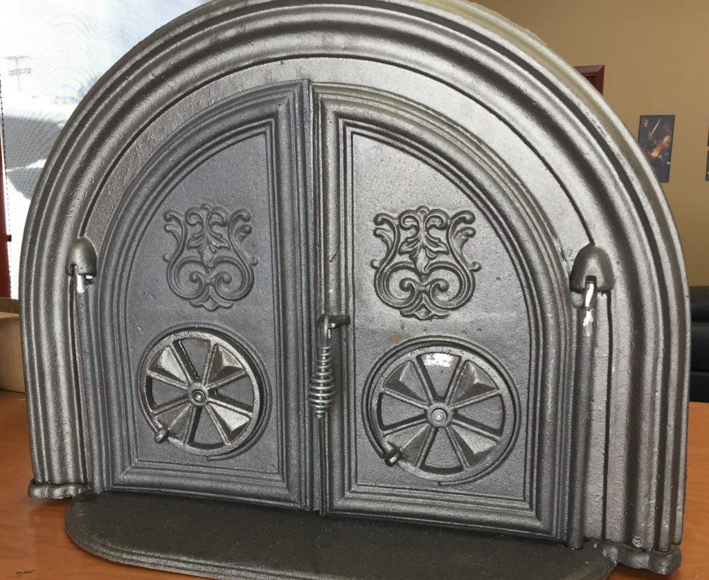 Bread oven doors